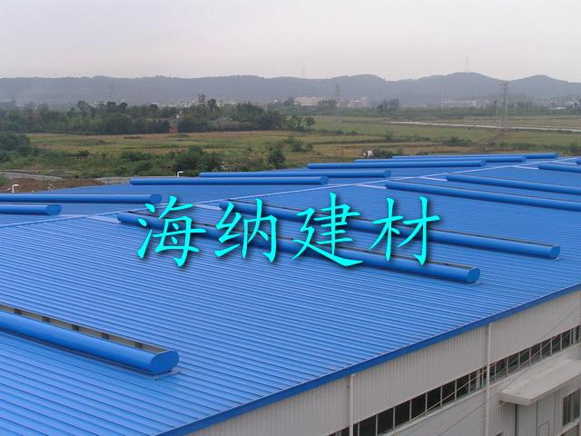 塑钢瓦工程案例